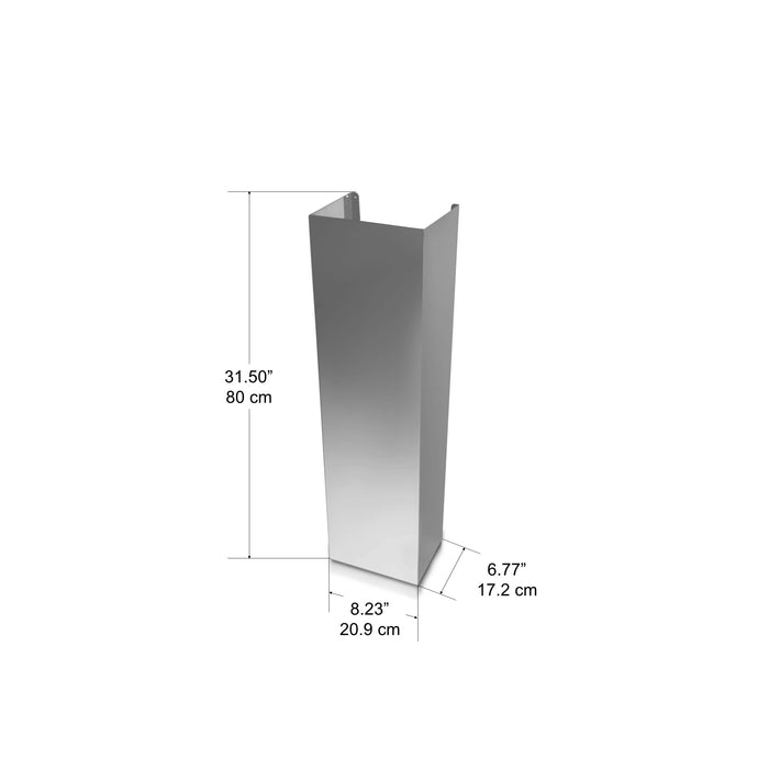 Chimney Extension Wall Mount Compatible (AN-1158 AN-1534 AN-1161 AN-1136 AN-1542 AN-1543 AN-1544 AN-1545)