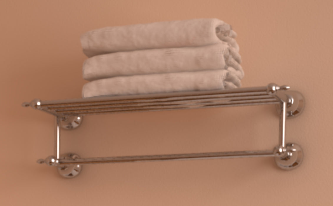 Premium Chrome Series Towel Shelf — Ancona Home