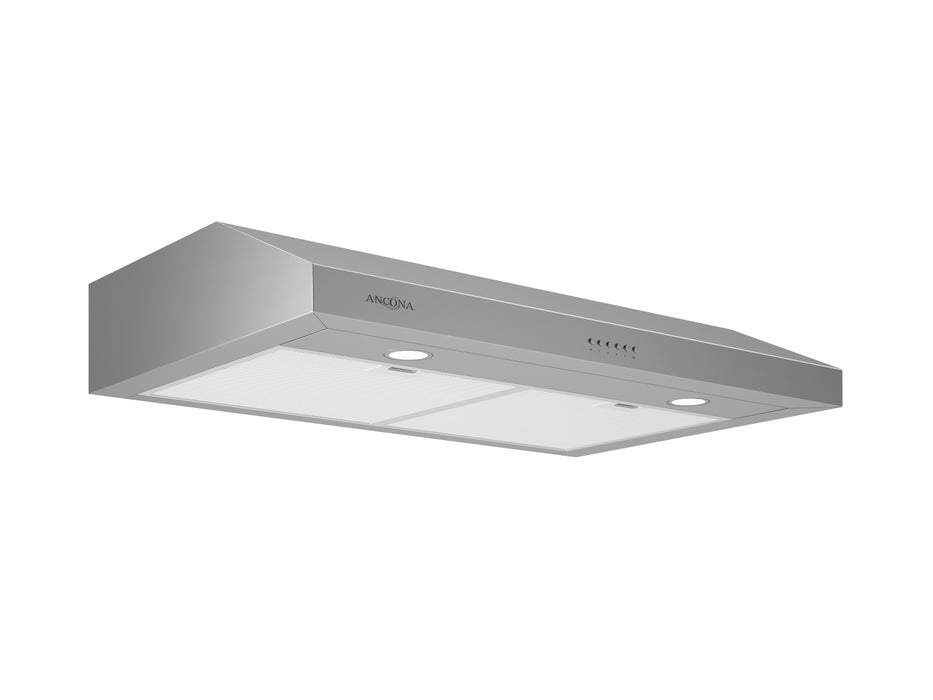 Ancona Slim EL530 30 in. Stainless Steel Under Cabinet Range Hood