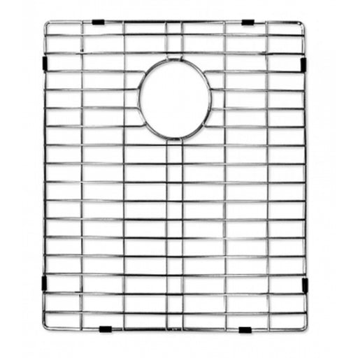 Kitchen 304 Stainless Steel Sink Grid with Polished Chrome Finish, 17.25-inch, Sink Grid for Master Series Thin Edge Top-mount Double Bowl Kitchen Sink