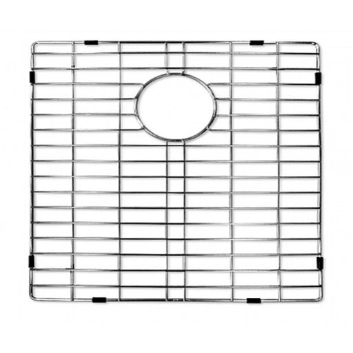 Kitchen 304 Stainless Steel Sink Grid with Polished Chrome Finish, 22.25-inch, Sink Grid for Master Series Thin Edge Top-mount Single Bowl Kitchen Sink