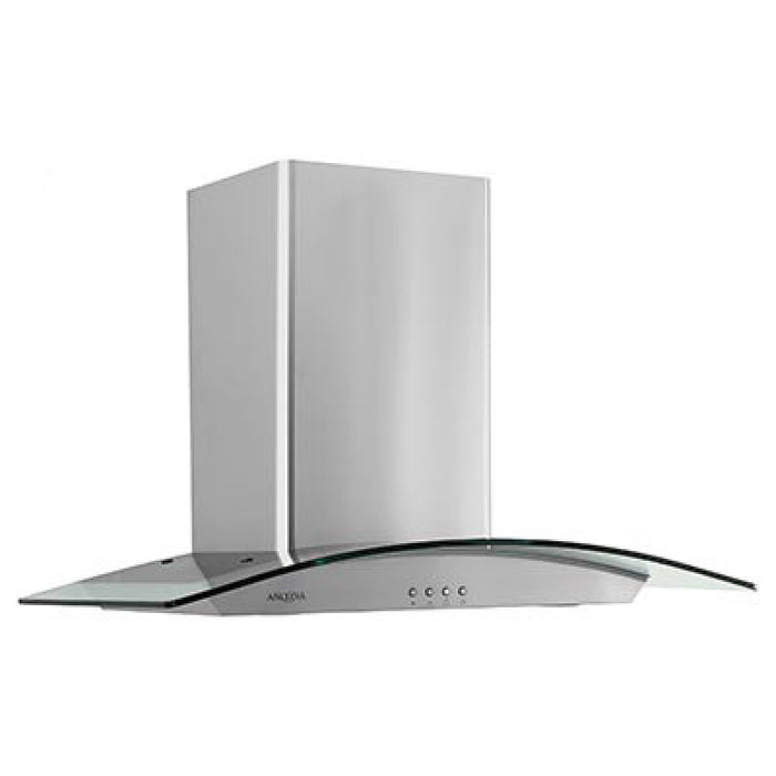 30 in. Tornado II Glass Canopy 600 CFM Wall Mount Range Hood