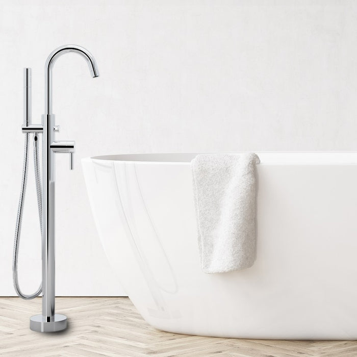 Prima Floor Mount Bathtub Faucet
