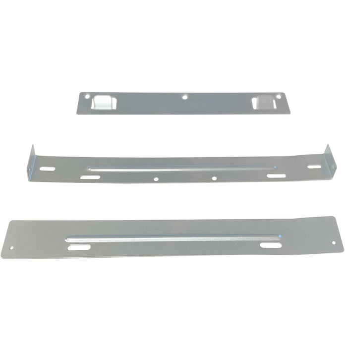 Upper, lower and hood mounting brackets