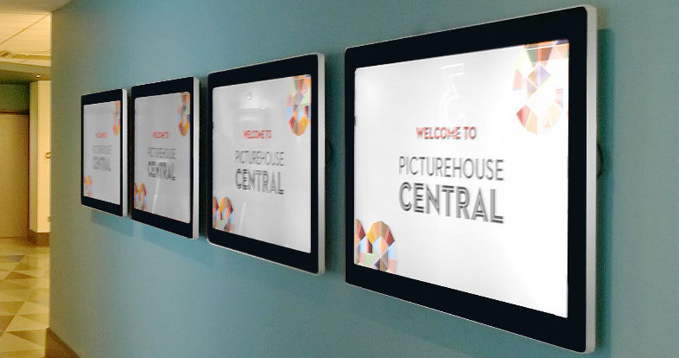 Wall mounted Digital Signage for Cinema
