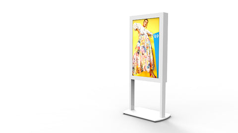 Freestanding Ultra High Brightness Digital Screen