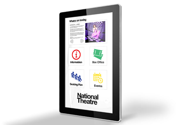 Digital Touch Screen for National Theatre