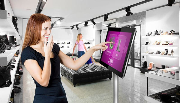 Digital Touch Screen for Shoe Shop