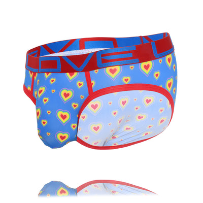 Andrew Christian Love Pride Hearts Brief w/ Almost Naked 91633