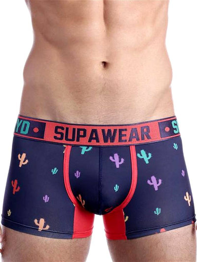 Supawear Sprint Cacti Trunk Underwear Bristly Black