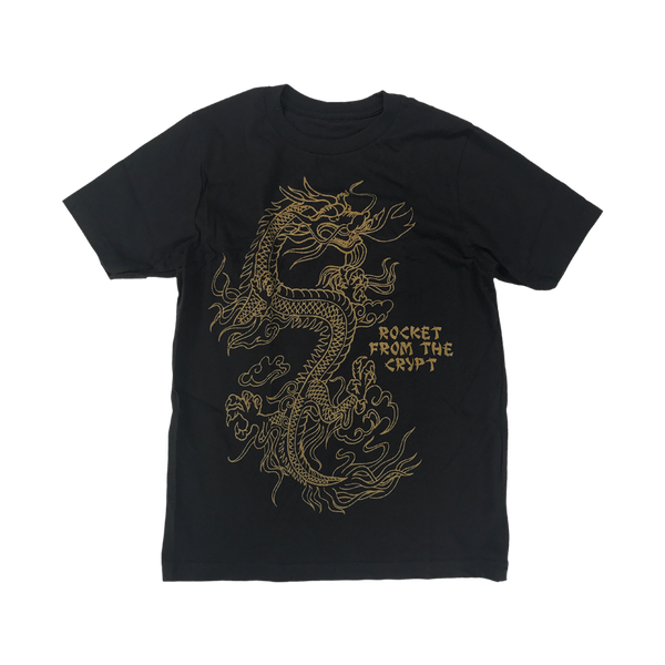 RFTC KIDS 'DRAGON' BLACK T-SHIRT