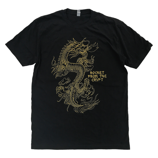RFTC 'DRAGON' BLACK T-SHIRT
