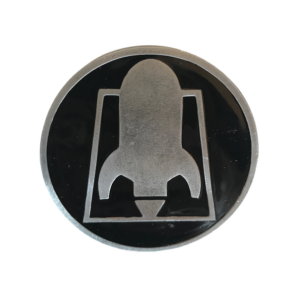 RFTC 'ROCKET LOGO' BELT BUCKLE