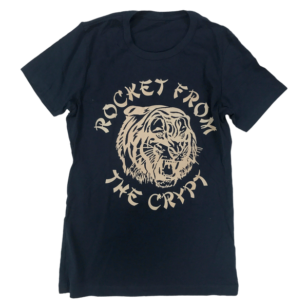 RFTC LADIES 'TIGER' NAVY T-SHIRT