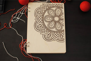 Wood Cover Notebook A5