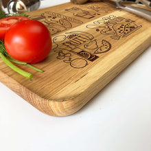 Kitchen Wooden Cutting Board 25 x 40