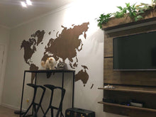 World Wood Map