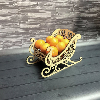 Decorative Sledge Container