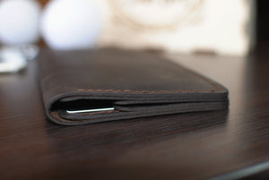 Your name / logo / initials  Leather Wallet