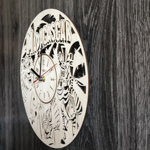 Madagascar Wall Wood Clock