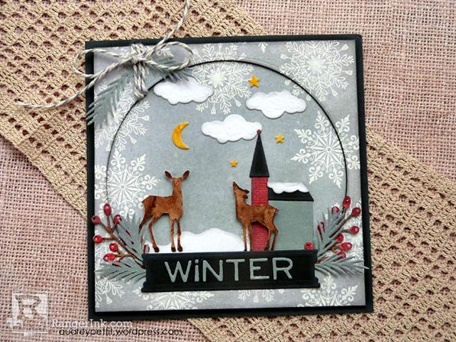 Winter Theme Card by Audrey Pettit