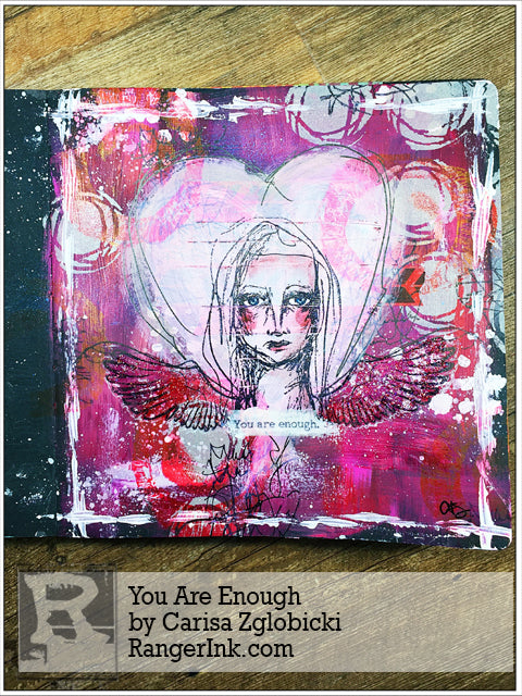 You Are Enough by Carisa Zglobicki