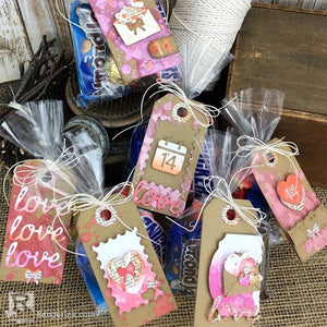 Valentine Tag Treat Bag by Bobbi Smith
