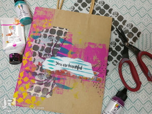 "You Are Beautiful Gift Bag by Samantha ""Scarlyton"" Carlton"