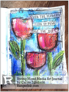 Spring Media Art Journal by Carisa Zglobicki