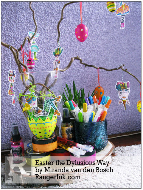 Easter the Dylusions Way by Miranda van den Bosch