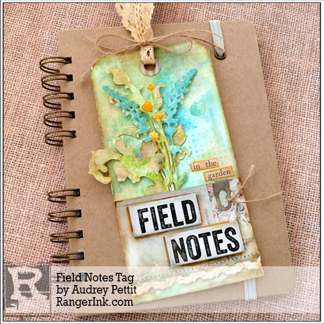 Field Notes Tag by Audrey Pettit