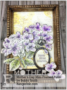 Mother's Day Mini Framed Panel by Bobbi Smith