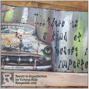 Beauty in Imperfection by Victoria Hills