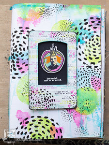Weird Not to be Weird Journal Page by Cheiron Brandon