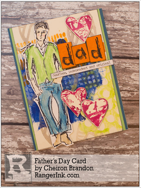Father's Day Card by Cheiron Brandon