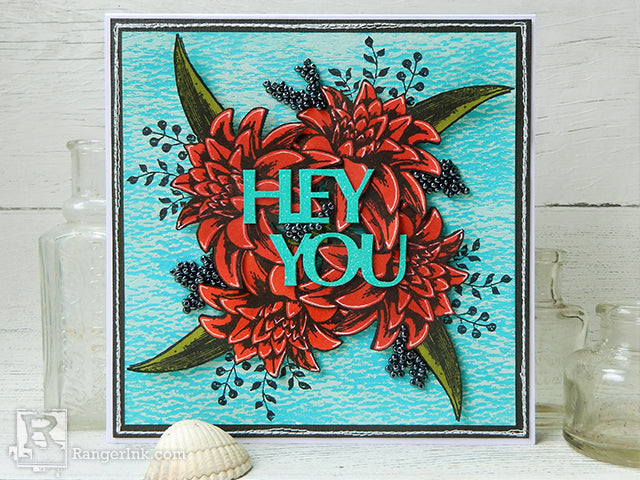 Wendy Vecchi Hey You Card by Jenny Marples