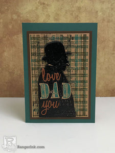Love You Dad Card by Patti Behan
