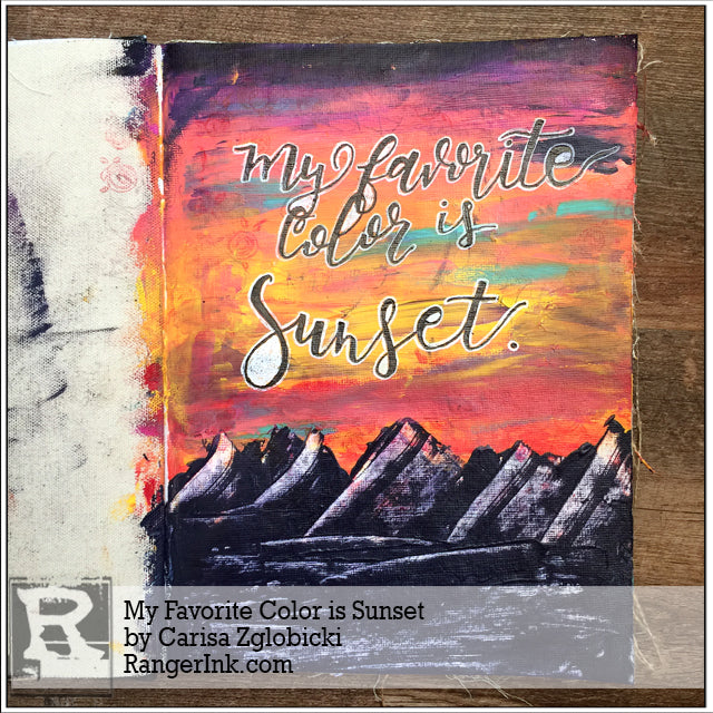 My Favorite Color is Sunset by Carisa Zglobicki
