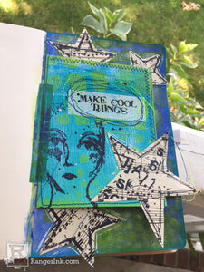 Dina Wakley Media Art Journal Tip In by Kristi Nazzaro