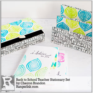 Back to School Teacher Stationery Set by Cheiron Brandon