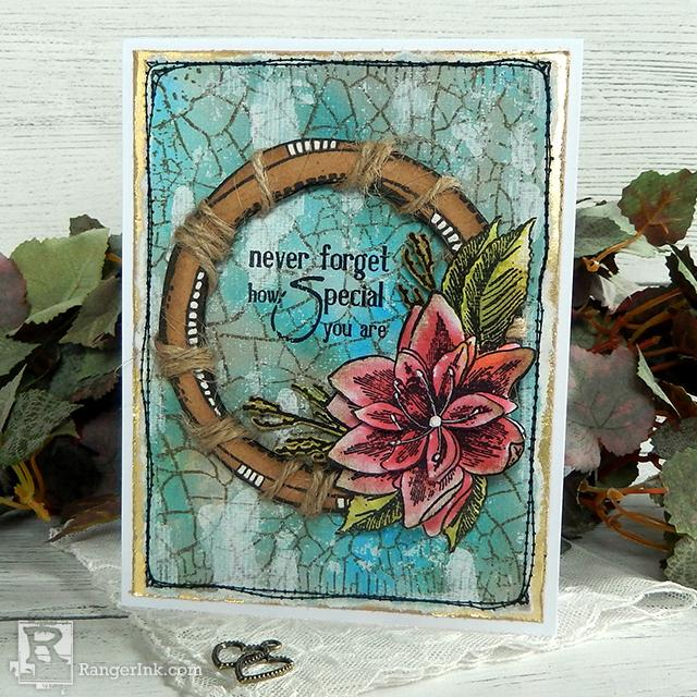 Wendy Vecchi Never Forget Card by Jenny Marples