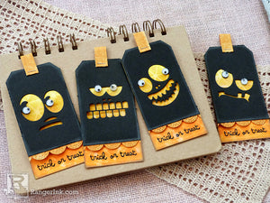 Trick or Treat Tag Set by Audrey Pettit