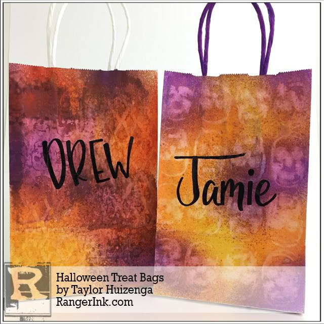 Halloween Treat Bag by Taylor Huizenga