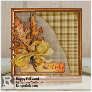 Happy Fall Card by Tammy Tutterow