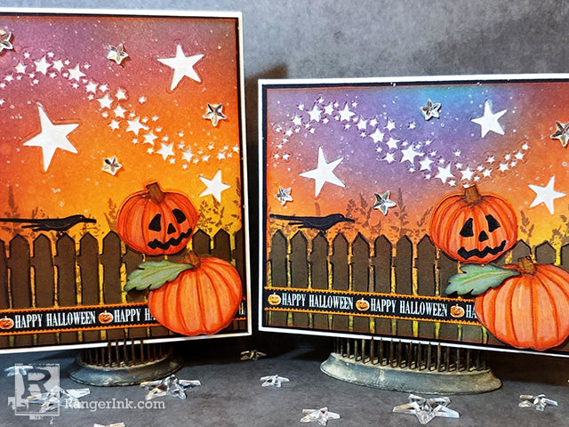 Wendy Vecchi Archival Ink Halloween Cards by Anita Houston