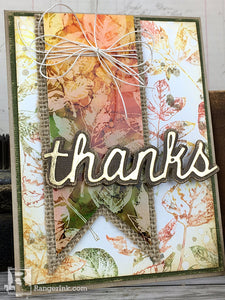 Fall Thank You Card by Bobbi Smith