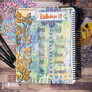 Using Dylusions for Bullet Journaling by Josefine Fourage