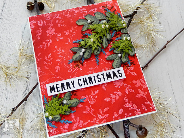 Wendy Vecchi Merry Christmas Card by Jenny Marples