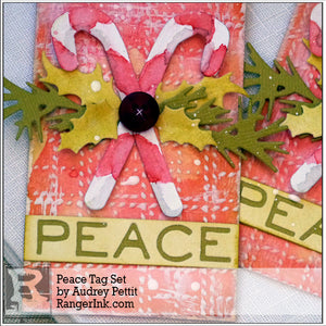 Peace Tag Set by Audrey Pettit