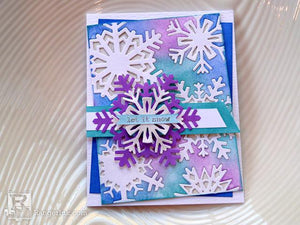 Let It Snow Card by Audrey Pettit